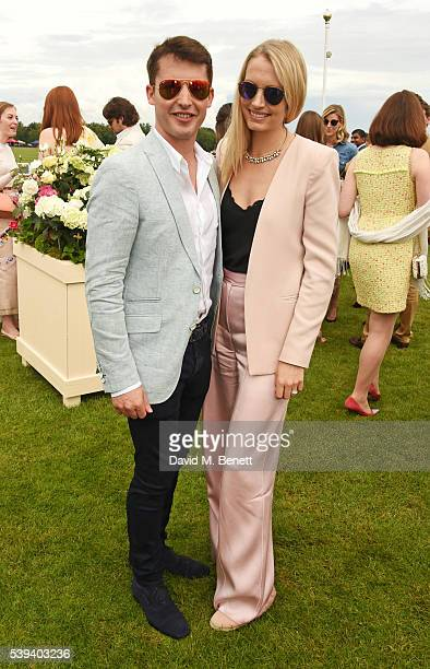 James Blunt and Sofia Blunt attend The Cartier Queen's Cup Final at Guards Polo Club on June 11 2016 in Egham England