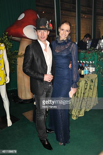 James Blunt and Sofia Wellesley attend the Reuben Foundation Adventure in Wonderland party in aid of Great Ormond Street Hospital on November 21 2013...