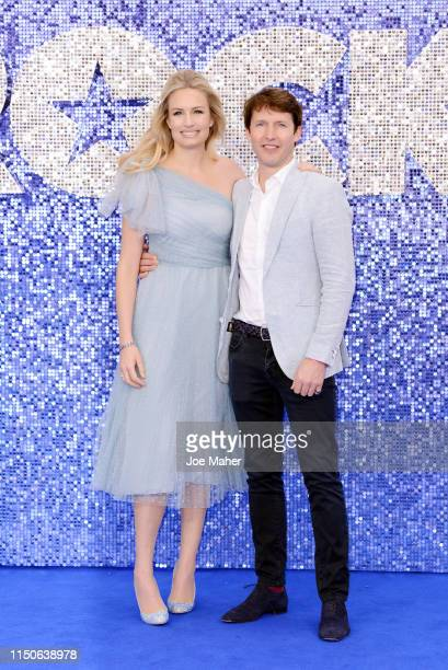 """James Blunt and Sofia Wellesley attend the """"Rocketman"""" UK Premiere at Odeon Leicester Square on May 20, 2019 in London, United Kingdom."""