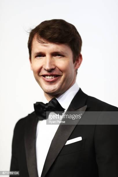 James Blunt arrives at the 59th Annual Logie Awards at Crown Palladium on April 23 2017 in Melbourne Australia