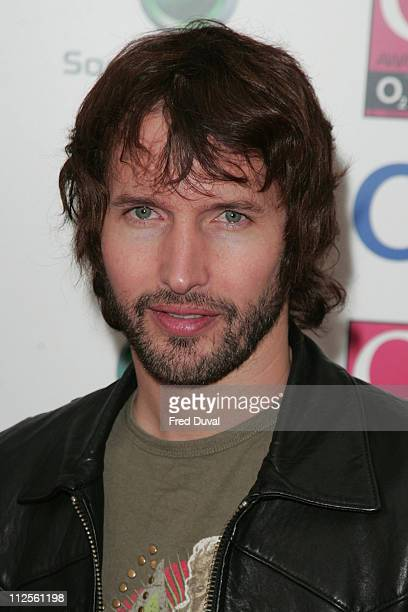 James Blunt arriving at the Q Awards held at Grosvenor House Hotel on October 8 2007 in London England