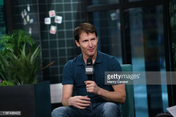 James Blunt attends Build Series to discuss his new album Once Upon a Mind at Build Studio on November 13 2019 in New York City