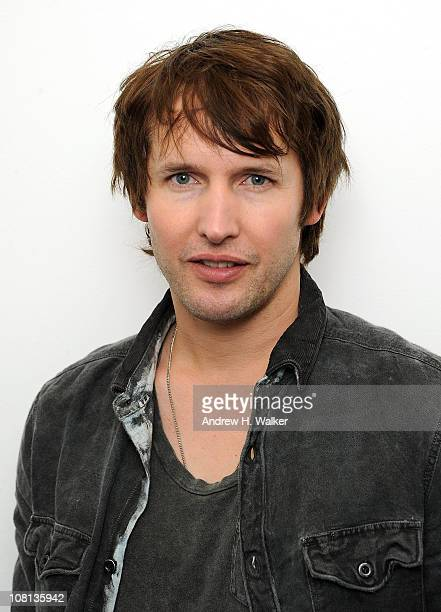 James Blunt attends JetBlue's Live From T5 concert series in Terminal 5 at JFK Airport on January 18, 2011 in New York City.