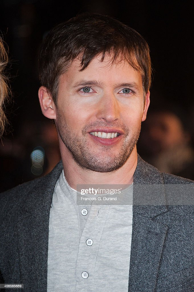 James Blunt attends the 15th NRJ Music Awards at Palais des Festivals on December 14, 2013 in Cannes, France.