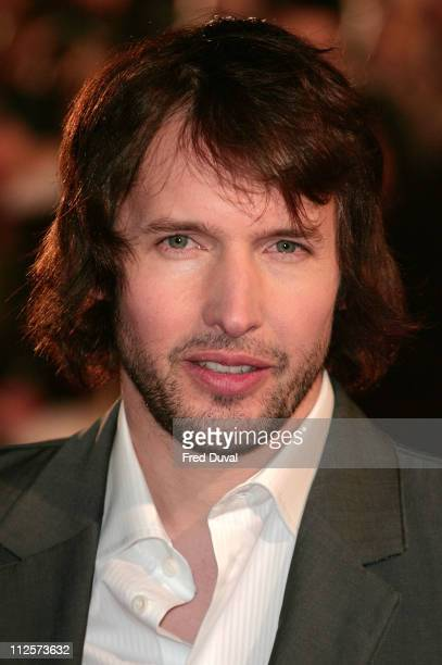 James Blunt attends the Brit Awards held at Earls Court on February 20 2008 in London England