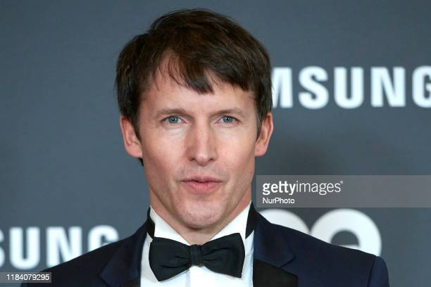 James Blunt attends the GQ Men Of The Year Awards 2019 photocall at The Westin Palace Hotel in Madrid Spain on Nov 21 2019