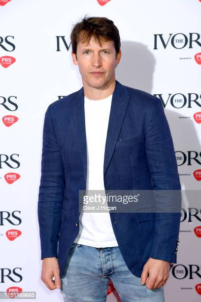 James Blunt attends The Ivors 2019 at Grosvenor House on May 23, 2019 in London, England.