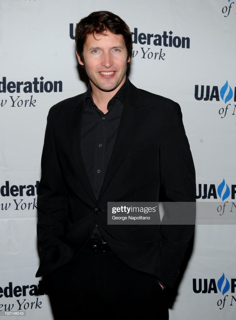James Blunt attends the UJA-Federation's 2010 Music Visionary of the Year award luncheon at The Pierre Ballroom on June 16, 2010 in New York City.