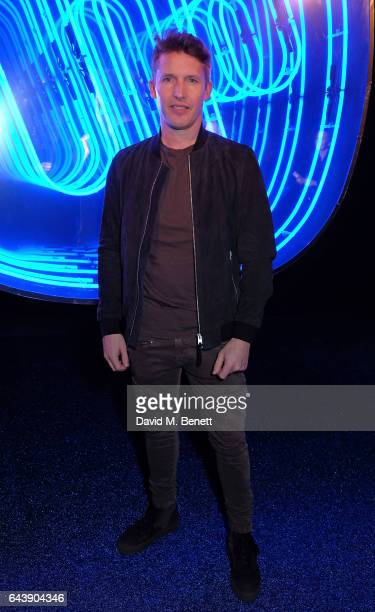 James Blunt attends The Warner Music Ciroc Brit Awards After Party on February 22 2017 in London England
