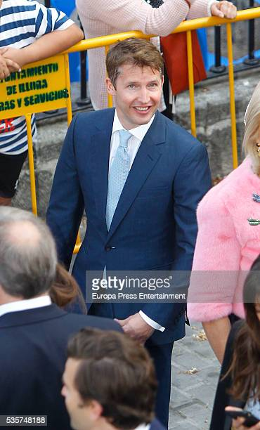 James Blunt attends the wedding of Lady Charlotte and Alejandro Santo Domingo on May 28 2016 in Granada Spain
