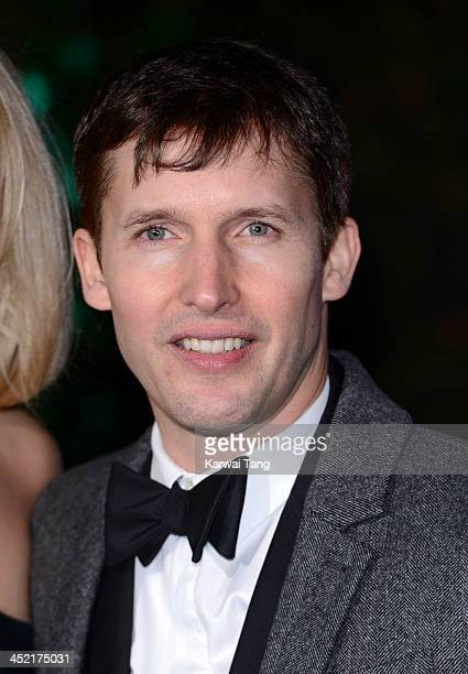 James Blunt attends the Winter Whites Gala in aid of Centrepoint at Kensington Palace on November 26 2013 in London England