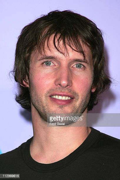 James Blunt during 2005 MTV Europe Awards in Lisbon London Press Conference at The Hospital in Soho London in London Great Britain