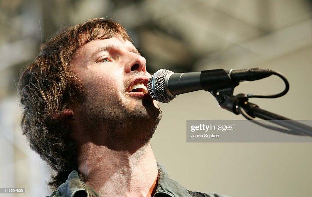 James Blunt during 2006 Coachella Valley Music and Arts Festival - Day Two at Empire Polo Fields in Indio, California, United States.