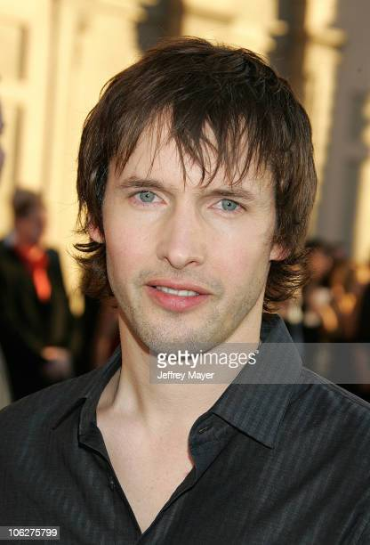 James Blunt during 33rd Annual American Music Awards Arrivals at Shrine Auditorium in Los Angeles California United States
