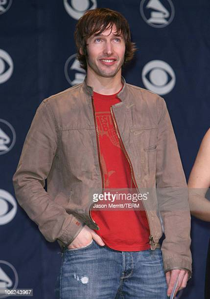 James Blunt during 49th Annual GRAMMY Awards Nominations Announcement at Music Box in Hollywood California United States