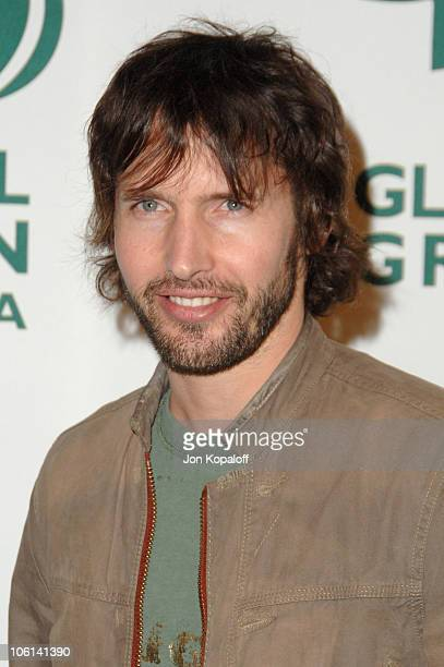 James Blunt during Global Green USA 2007 PreOscar Celebration to Benefit Global Warming Arrivals at The Avalon in Hollywood California United States