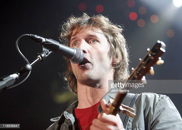 James Blunt during James Blunt in Concert at San Jose State University - November 10, 2006 at The Event Center in San Jose, California, United States.