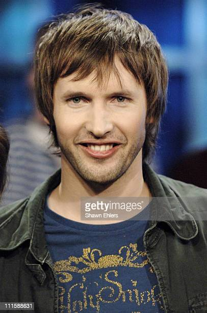 James Blunt during James Blunt Visits FUSE's 'Daily Download' March 15 2006 at FUSE Studio in New York City New York United States