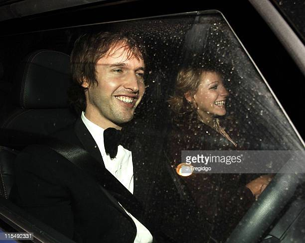 James Blunt during Sir Elton John and David Furnish's Civil Partnership Ceremony Reception Arrivals at Windsor Guildhall in Windsor Great Britain