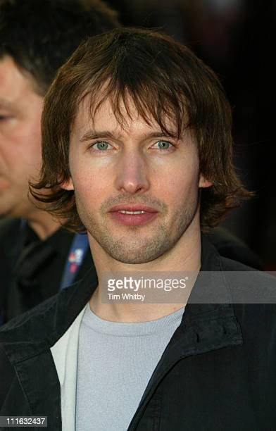 James Blunt during The Brit Awards 2006 with MasterCard Outside Arrivals at Earls Court in London Great Britain