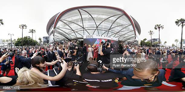 James Blunt Kylie Minogue and Ed Sheeran are interviewed on the red carpet ahead of the 29th Annual ARIA Awards 2015 at The Star on November 26 2015...