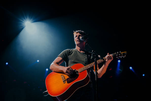 GBR: James Blunt Performs At Motorpoint Arena, Cardiff