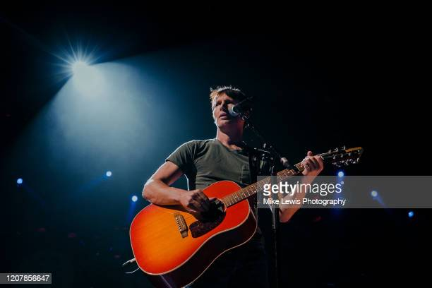 James Blunt performs at Motorpoint Arena on February 21, 2020 in Cardiff, Wales.