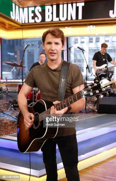 AMERICA James Blunt performs live on 'Good Morning America' Monday June 26 airing on the ABC Television Network JAMES