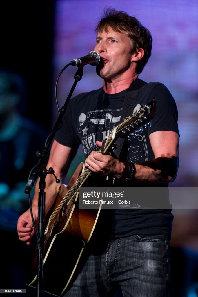 James Blunt Performs In Rome