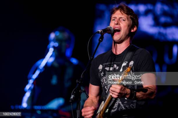 James Blunt performs on stage at the Auditorium Parco della Musica Cavea on July 17 2018 in Rome Italy