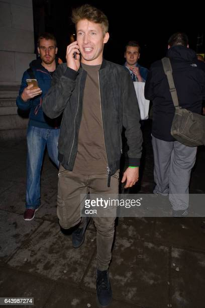James Blunt seen attending the Warner Music BRITs party at the Freemasons Hall on February 22 2017 in London England