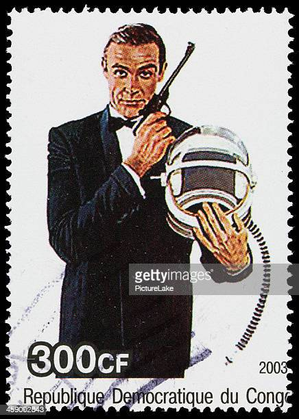 James Bond 007 Demokratischen Republik Kongo Briefmarke
