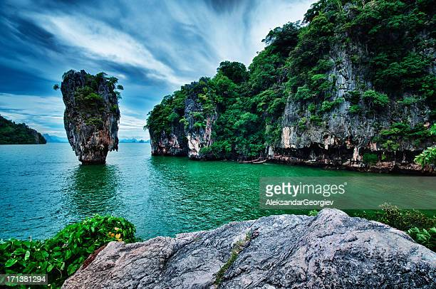 James Bond island in Phuket Thailand