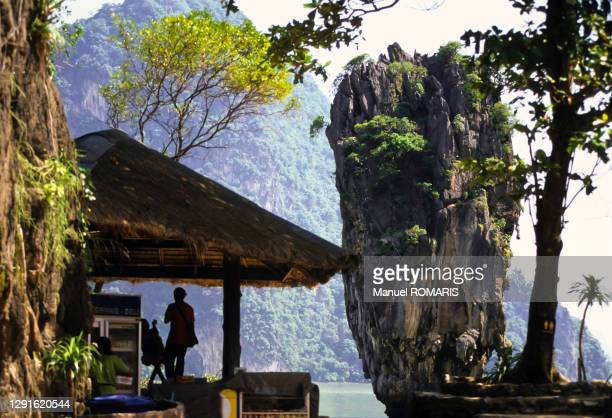 james bond island, phang nga bay, thailand - james bond fictional character stock pictures, royalty-free photos & images