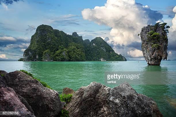 James Bond island, Phang nga, Phuket, Thailand