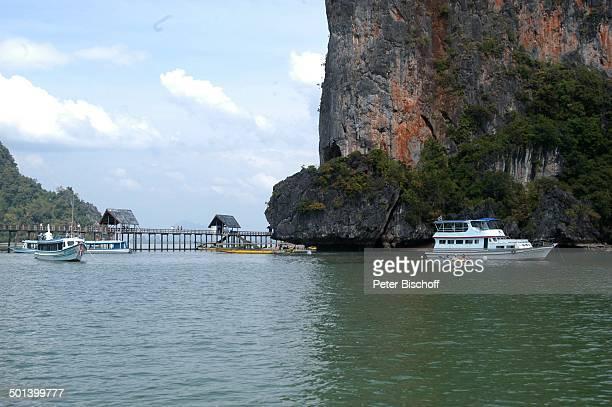 James BondInsel Khao Phing Kan Bucht von Phang Nga Thailand Asien Reise BB DIG PNr 192/2004