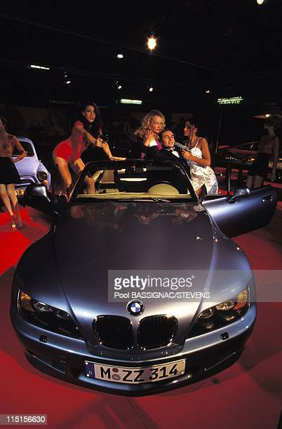 James Bond's cars at the international auto show in Paris France in October 1996 BMW Z3 'Goldeneye' car