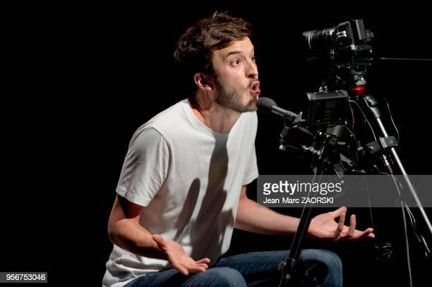 James Borniche dans « Roberto Zucco » une pièce de théâtre de BernardMarie Koltès mise en scène par le Français YannJoël Collin interprétée par les...