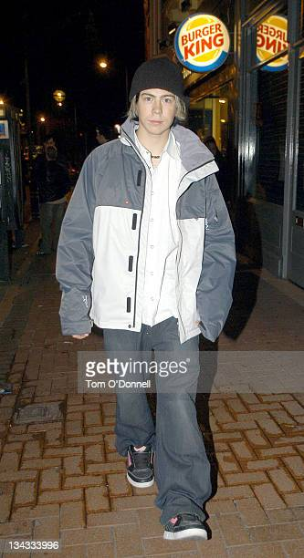 James Bourne during Busted Sighting in Dublin November 20 2004 at Lillies Bordello in Dublin Ireland