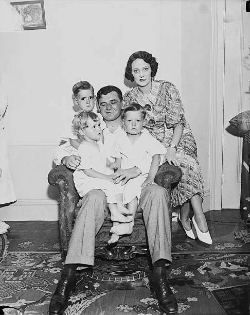 James Braddock with Family Pictures | Getty Images