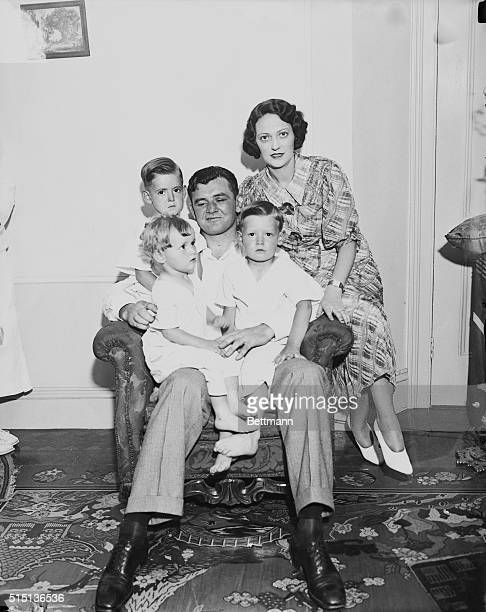 James Braddock newly crowned heavyweight champion and his family It was for them he climbed into the ring and seriously socked the clownishness and...