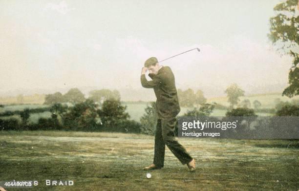 James Braid Scottish golfer c1910