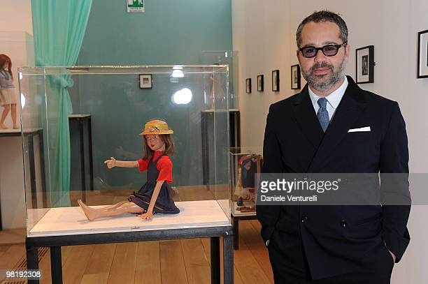 James Brett attends the press preview of the ''The Museum Of Everything'' at the Pinacoteca Giovanni e Marella Agnelli on March 31 2010 in Turin Italy
