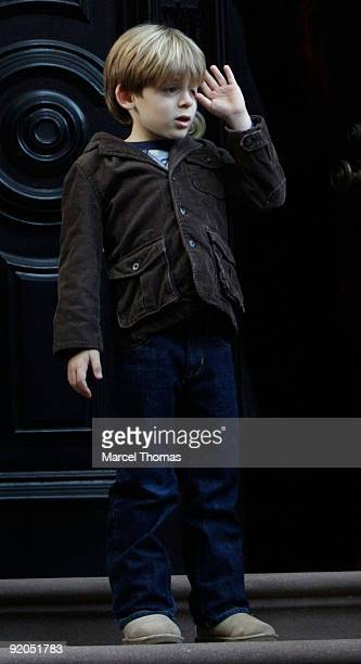 James Broderick is seen on the streets of Manhattan on October 19 2009 in New York City