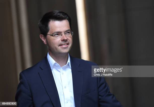 James Brokenshire arrives at 10 Downing Street on June 11 2017 in London England Prime Minister Theresa May Reshuffles her cabinet after the snap...