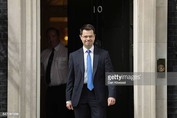 James Brokenshire leaves 10 Downing Street where he was appointed as Northern Ireland Secretary as Prime Minister Theresa May continues to appoint...