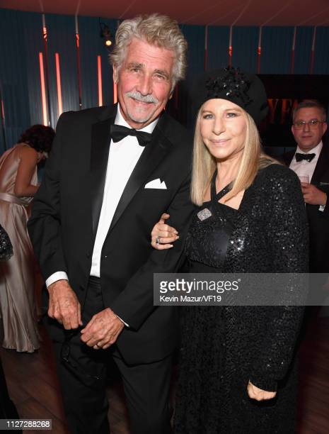 James Brolin and Barbra Streisand attend the 2019 Vanity Fair Oscar Party hosted by Radhika Jones at Wallis Annenberg Center for the Performing Arts...