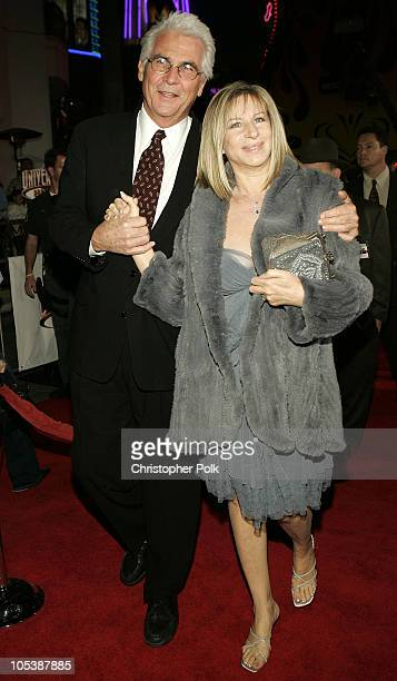 James Brolin and Barbra Streisand during Meet the Fockers Los Angeles Premiere at Universal Amphitheatre in Universal City California United States