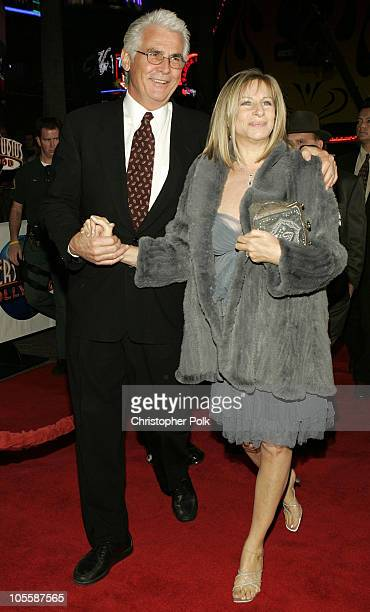 "James Brolin and Barbra Streisand during ""Meet the Fockers"" Los Angeles Premiere at Universal Amphitheatre in Universal City, California, United..."