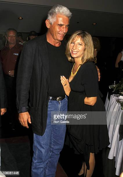 "James Brolin and Barbra Streisand during Screening of ""My Brother's War"" at Hitchcock Theater in Los Angeles, California, United States."